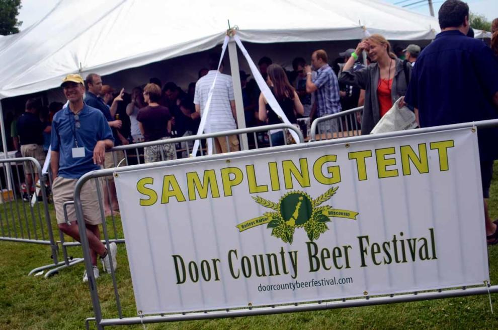 Beer Tasting Tent